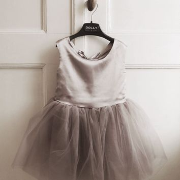 DOLLY by Le Petit Tom ® BALLET DRESS cappuccino