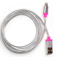 Ban.do Back Me Up! Charging Cord- Metallic Silver