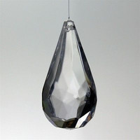 Acrylic Raindrop Crystal Hanging Decor, 1-3/4-inch, 31-piece