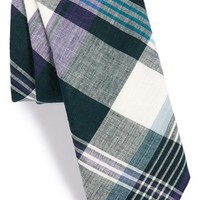 Men's Todd Snyder White Label Plaid Cotton Tie