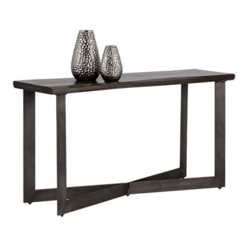 MARLA SOLID ACACIA WOOD WITH WALNUT BROWN FINISH CONSOLE TABLE