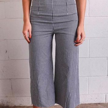 Sunday Afternoon Gingham Bottom