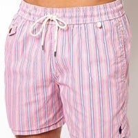 Polo Ralph Lauren Stripe Swim Shorts at asos.com