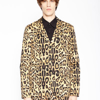 LEOPARD TOP CAT BLAZER