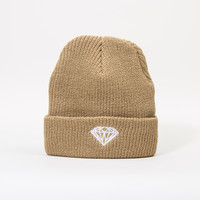 Brilliant Fold Beanie in Tan