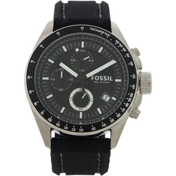 Fossil - CH2573P Decker Chronograph Black Silicone Watch