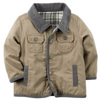 Flannel-Lined Canvas Jacket