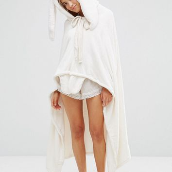 Oysho Rabbit Blanket at asos.com