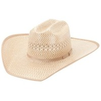 American Hat Tri-Colored Shantung Cowboy Hat