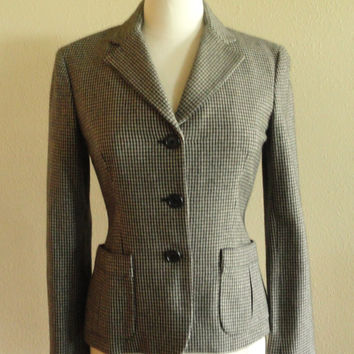 Vintage Ralph Lauren 100% Wool Womens Blazer Jacket - 4