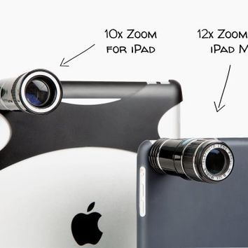 The iPad Telephoto Lens