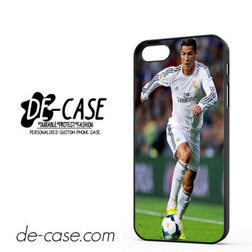 Cristiano Ronaldo Of Real Madrid FC DEAL-2861 Apple Phonecase Cover For Iphone 5 / Iphone 5S