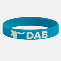 DAB blue wristband