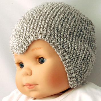 Knitted kids/baby hat vintage style by kitsdiezijn on Etsy