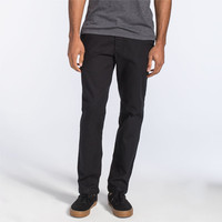 Volcom Grant Mens Trousers Black  In Sizes