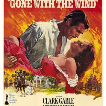 Gone With The Wind 27x40 Movie Poster (1974)