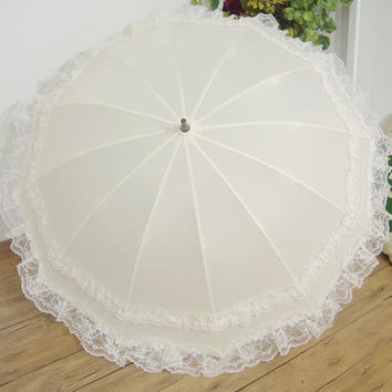 Lace Princess Umbrella Lovely Wedding Dress [10151469068]