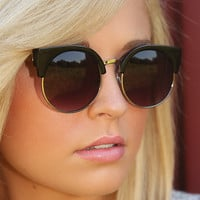 Blinded By The Light Sunglasses: Black