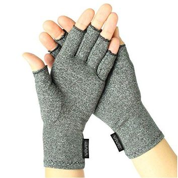 Arthritis Gloves by Vive - Compression Hand Gloves for Rheumatoid & Osteoarthritis-Small