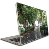Macbook Air or Macbook Pro (13 inch) Decal - Madison Square Park New York - Vinyl, Removable Skin