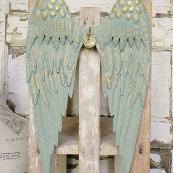 Angel Wings, Angel Wing Decor, Angel Wing Wall Decor, Angel Decor, Spiritual Wall Decor, Unique Wall Decor, Metal Wall Decor, Wing Decor