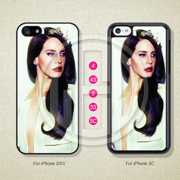 Lana Del Rey, Phone Cases, iPhone 5S Case, iPhone 5 Case, iPhone 5C Case, iPhone 4 case, iPhone 4S case, Case For iPhone --L51141