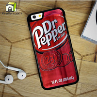 Dr Pepper iPhone 6 Plus Case by Avallen