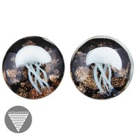 White Jellyfish Plugs