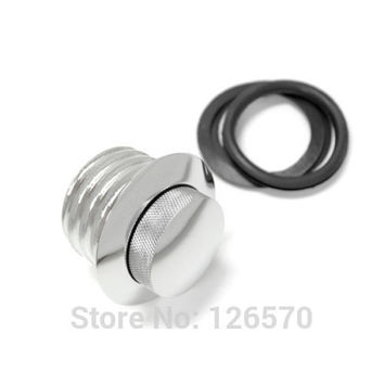 Motorcycle parts Chrome POP-UP Screw-In Flush Mount Fuel Tank Gas Cap for Harley Davidson Sportster
