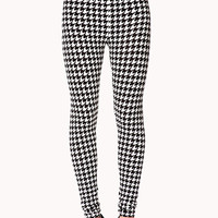 Retro Houndstooth Leggings