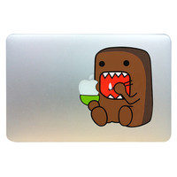 Funny Cute Monstor For Apple Macbook Pro Air 13'' pro retina 13inch Front Skin Domo Kun Art Funny Decal Sticker Laptop