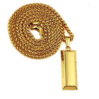 Supreme 18K Gold Bar Chain