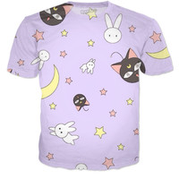 Sailor Moon Bedding Inspired Shirt