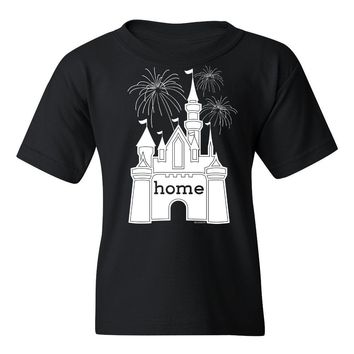 Youth That Magical Castle Is My Home Fireworks T-Shirt