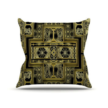 Deco Frond Pillow Cover