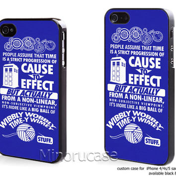 dr who couse blue Custom case For iphone 4/4s,iphone 5,Samsung Galaxy S3,Samsung Galaxy S4 by minorucase on etsy