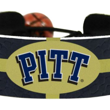 Pittsburgh Panthers Team Color Basketball Bracelet