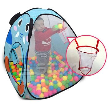 Children Kids Baby Ocean Ball Pit Pool Tent Play Toy Tent Playhouse