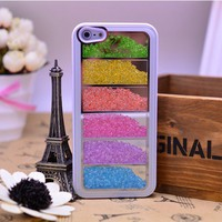 Fashion  Rainbow Element Crystal  Case For iPhone 4/4s/5