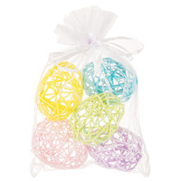 Pastel Wrapped Rope Easter Eggs | Hobby Lobby