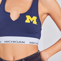 College Cotton Sports Bra | Urban Outfitters
