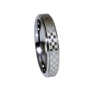 Cute Chequered ring for NASCAR FAN women