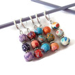 Crochet Stitch Markers, Beaded Stitch Markers, Colourful Stitch Markers