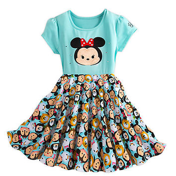 Minnie Mouse and Friends ''Tsum Tsum'' Dress for Girls | Disney Store