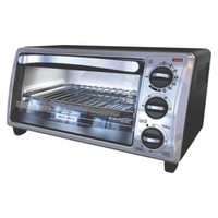 Black & Decker Black Toaster Oven - 4 Slice