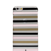 watch hill stripe clear iphone 6 plus case