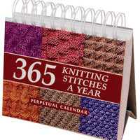 Martingale & Company-365 Knitting Stitches Calendar