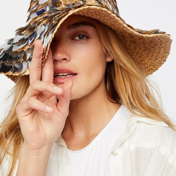 Free People St. Lucia Paillette Hat
