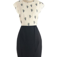 Sugarhill Boutique Critters Mid-length Short Sleeves Sheath Panda 'Nother Thing Dress