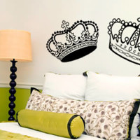 A Crown Affair... wall decals | Dezign With a Z